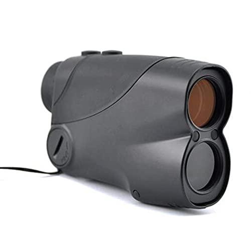Ybzx Telémetro de Golf de 800 M, telémetro de 6X 25 Mm para Golf de Caza Salvaje, buscador de Rango de medición con escaneo de Velocidad y Niebla