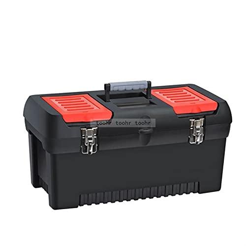 Caja de herramientas Hardware grande Hardware electricista Caja Mantenimiento multifuncional Herramienta portátil Caja de almacenamiento Caja de automóviles Organizadores de herramientas Caja de metal