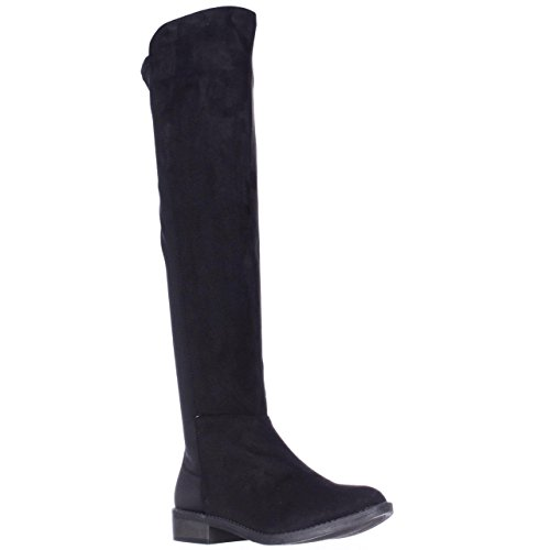 Price comparison product image Rebel by ZIGI SOHO Womens Olaa Closed Toe Suede Fashion Boots,  Black,  Size 6