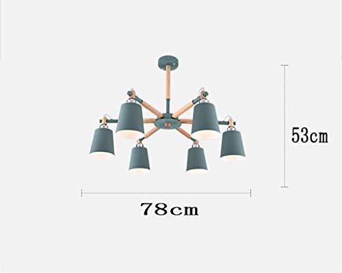 Hanglampen, plafondlamp, Amerikaanse stijl, kroonluchter, koper, hanglamp, met kop, moderne lampen, modern, minimaal, gang, hallway, hanglamp