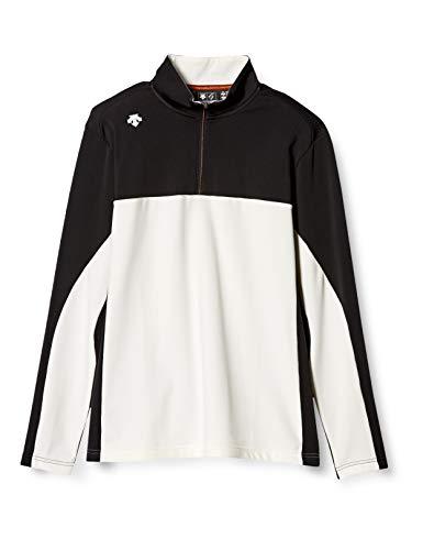 [デサントゴルフ] 長袖シャツ ゴルフ 定番 デザイン スタイリッシュ DGMMJB15 メンズ BK00(ブラック) 日本 L (日本サイズL相当)
