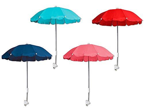 Vetrineinrete Ombrellino per passeggino parasole universale ombrello Ø70 cm per carrozzina protezione dai raggi solari uv accessori per carrozzino vari colori C10