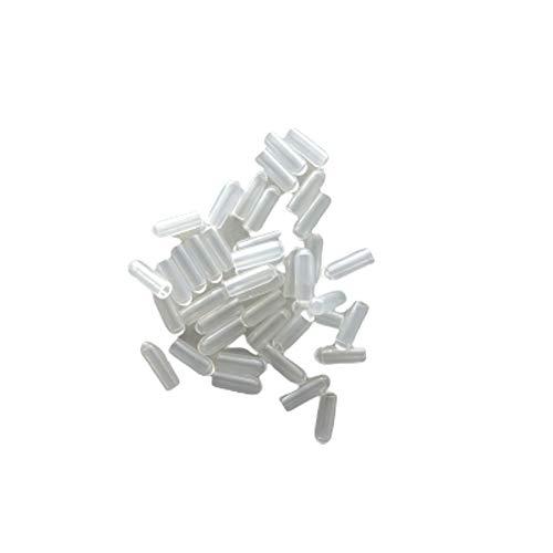 オリタニ 針金ハンガー キャップ クリア 透明 50個入 ひっかかり防止 安全 先端 傷つけない
