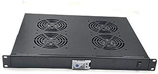 Raising Electronics Rack Mount Digital Server Fan Cooling System with 4 Fans 1U
