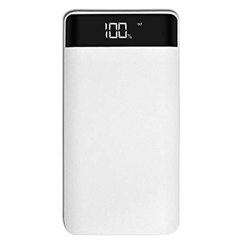 Yushu Caja de alimentación móvil (sin batería) universal 5 V 2 A 3 puertos USB Power Bank Case Kit DIY 8X 18650 batería DIY cargador caja