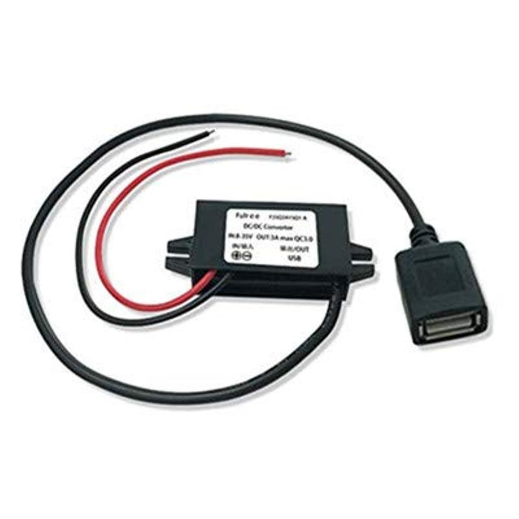 ジュラシックパークヒョウ苦しむSHINA アップグレード バージョン DC DCコンバーター バック モジュール サポート QC3.0 高速充電(8-35Vから3.6-12V 1.5-3A USB)ステップダウン 電圧 レギュレーター 充電 iPad iPhone SAMSUNGなどとの互換性があり