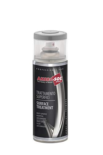 Ambro-Sol V400PAST.9 Pinturas tratamiento superficies imprimación anti oxido, Rojo, 400 ml