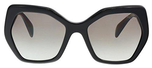Prada Damen 0Pr16Rs 1Ab0A7 56 Sonnenbrille, Schwarz (Black/Gradient)