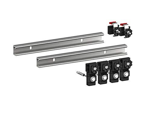 MEPA-Wannenleisten Duschwanne Stahl/Acryl 2 Stück 700 mm