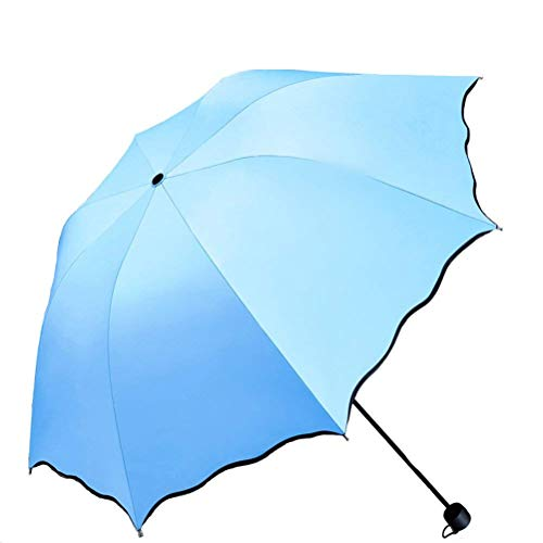 Mini Parapluie Pliant Compact Aluminum Squelettes 99/% de R/ésistance Aux UV Ultra L/éger Ext/érieur Portatif Parapluie