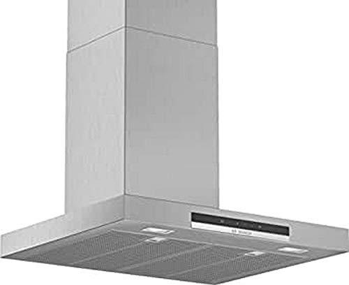 Bosch Serie 4 DWB67IM50 - Campana decorativa, 60 cm, T invertida, Acero inoxidable, Tecnología TouchControl [Clase de eficiencia energética B]