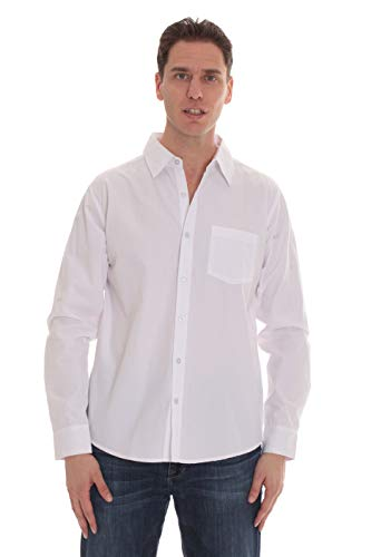 (Kupon DISKON 70%) Whiskey & Oak Classic Fit Solid Casual Button Down Shirt $ 6.00