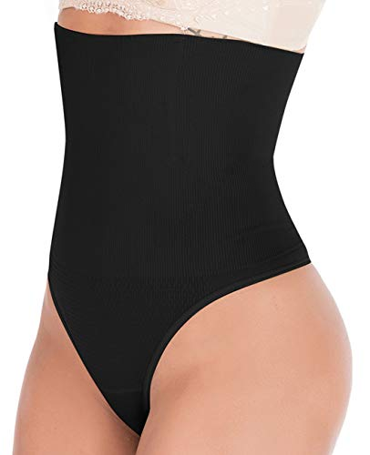Florata Damen Sanduhr-Figur Butt Lifter Shaper Höschen Bauchkontrolle Hohe Taille Boyshort -  -  Medium / Large