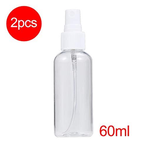 2-4 60 ml spuitflessen Sterilisatieflessen Lege cosmetische potten Lotion Verstuivers Monsterflessen Transparante etherische olie Parfum Cosmetische sproeier