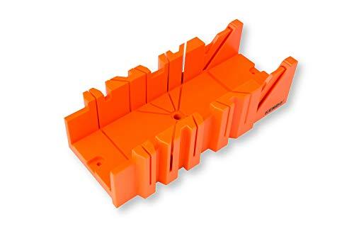 KENDO Schneidlade – Für Schneidewinkel: 22.5°, 45° und 90° – Länge: 300 mm – Aus verstärktem ABS-Kunststoff – Präzise Gehrungslade