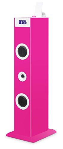 Bigben Interactive TW5RSSTICK Torre 20W Rosa Sistema de Audio para el hogar...