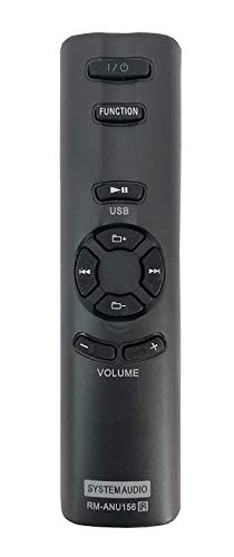 SoniVision SA-D10 SA-D100 SA-D40 Home Theater Systems Remote Compatible with Sony RM-ANU156