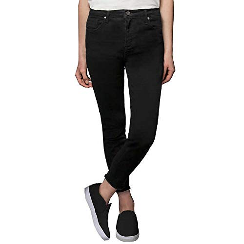 Kenneth Cole Ladies' Stretch Ankle Skinny Jeans for Women (Black, 6)