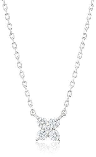 [ヴァンドーム青山] プラチナ APVN153340DI ダイヤモンド カローラ ネックレス