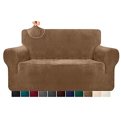 Granbest Funda de sofá gruesa de terciopelo ultrasuave, res