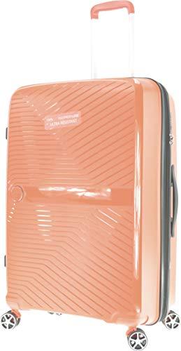 METZELDER Gloria - Maletín rígido irrompible Rose Pastel (Soft Pink) L - Large - 95/110L - 77x49x30cm - 4,5kg