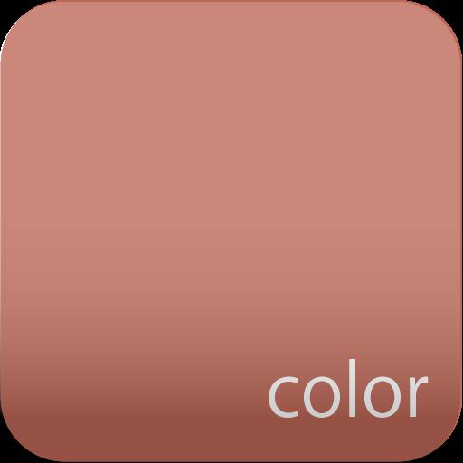 color carta da parati terracotta