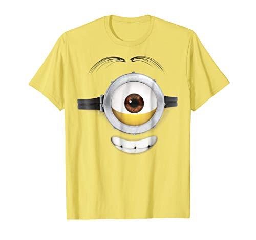 Despicable Me Minions Stuart Teeth Smile Graphic T-Shirt