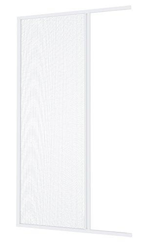 Windhager Plus Insektenschutz Aluminium-Rollo Fliegengitter für Türen, Balkontüren, individuell Kürzbar, 160 x 225 cm, Weiß, 03894