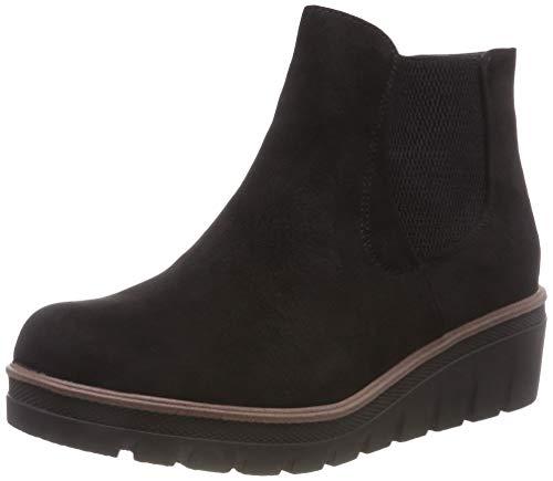 Rieker Damen 99182 Chelsea Boots, Schwarz (Black 00), 40 EU