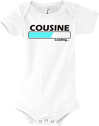 Shirtstown Baby Body Cousine Chargement - Blanc, 18-24 Monate