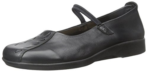 Arcopedico Women's Shawna Black Leather Shoe 7-7.5 M US