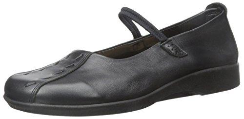 Arcopedico Women's Shawna Black Leather Shoe 7-7.5 M US