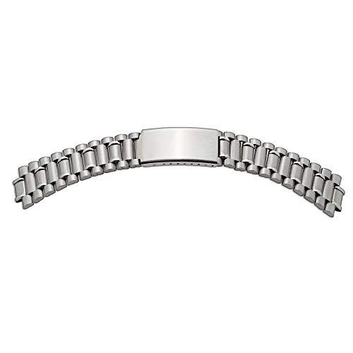 Shopkdo - Correa de reloj Muti con asas 18-20-22 mm, acero inoxidable Rowi fabricado en Alemania
