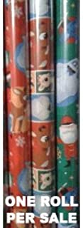 Rudolph the Red Nosed Reindeer Xmas Wrapping Paper