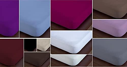 ForenTex - Sábana Bajera Ajustable, (4001), para Cama 135 cm, Color Surtido - Aleatorio