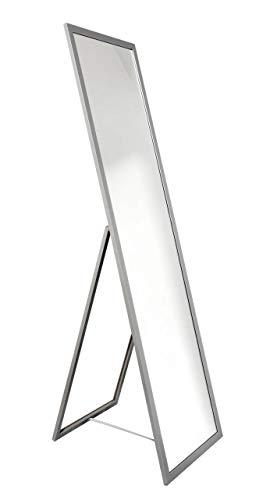 Nielsen Home Standspiegel Oslo, Silber, Holz, ca. 40x160 cm