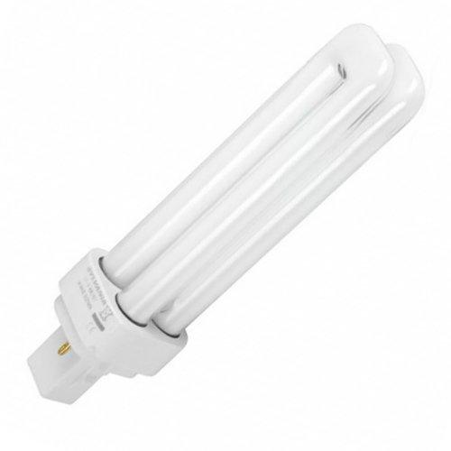 Bombilla para downlight PL 2 pin 26W G24d-3 luz blanca día 6400K Bajo consumo