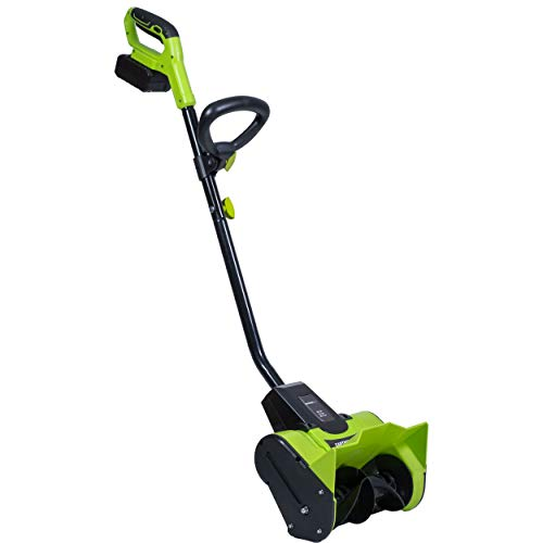 Earthwise 20-Volt 12-Inch Cordless Electric Snow Thrower