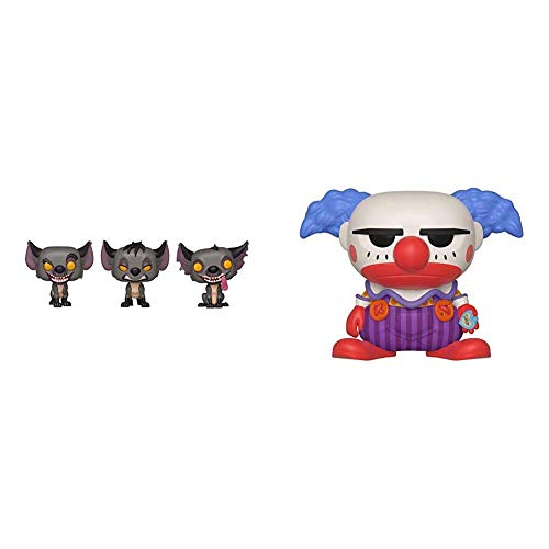 Funko Pop! Disney: Lion King - Hyenas 3 Pack Spring Convention Exclusive & Pop Disney: Toy Story 4 - Chuckles The Clown, Summer Convention, Amazon Exclusive