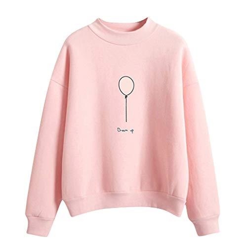 FRAUIT dames capuchontrui mooi ballon patroon sweatshirt met capuchon, herfst winter fluwelen capuchon pullover