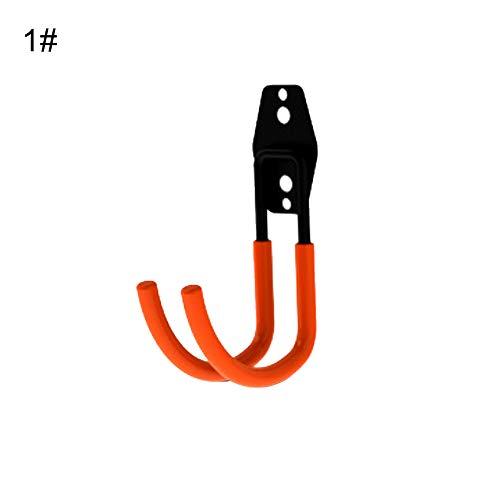 Beste kwaliteit – hooks & rails – zware duty wandgarage opslag van dubbele haken voor het organiseren van power – gereedschap van Stephanie – 1 pc 1