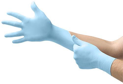 Guantes de examen dental MICRO-TOUCH DENTA-GLOVE Azul Nitrilo, XL
