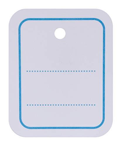 Apli 161022 1000 Etiquettes d'Affichage de Prix Perforé, 39mm x 55mm, Blanc