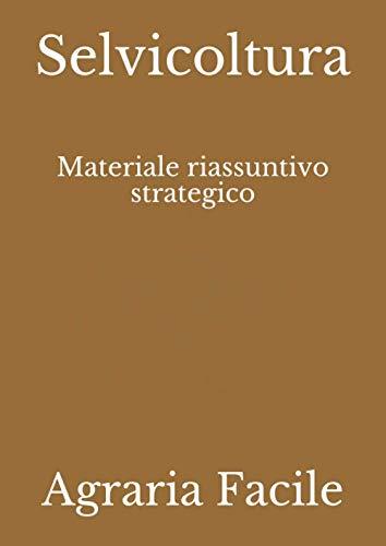 Selvicoltura: Materiale riassuntivo strategico (SAFA)