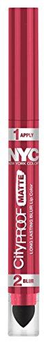 NYC City Proof Matte Blur Lip Color - Rose Island