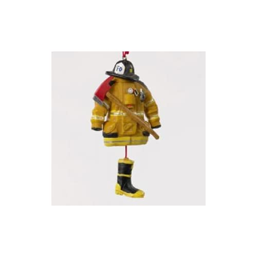 Amazon.com: Kurt Adler 4.5- Firefighter Uniform Christmas Ornament: Home &  Kitchen - Amazon.com: Kurt Adler 4.5- Firefighter Uniform Christmas Ornament
