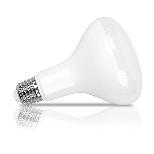 ONEVER E27 LED 12W BR30 Lumi¨¨re d'inondation Remplacement ampoule incandescente lisse blanc froid 960lm AC 85-265V