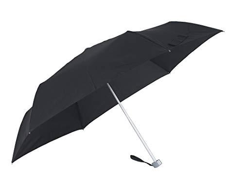 SAMSONITE Rain Pro 3 Section Manual Flat Paraguas Plegable, 24 cm, Negro