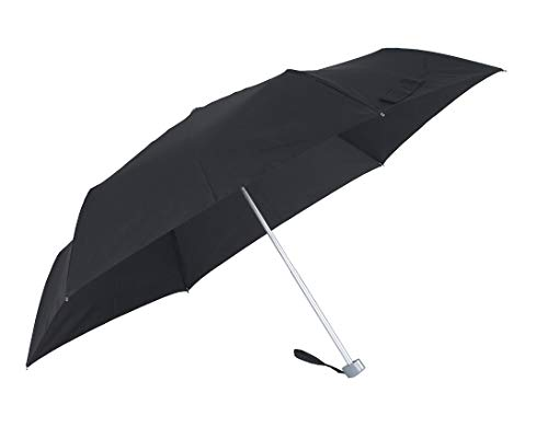 SAMSONITE Rain Pro 3 Section Manual Flat Regenschirm 24 cm, Black