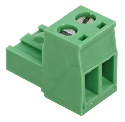 On Shore Technology OSTTJ025153 Connector Terminal Blocks, Female, 2 Position, 5.08 mm Screw Right Angle Cable Mount, 20A, 18.2 mm D x 15.1 mm H x 10.16 mm L (Pack of 10)